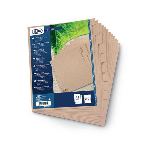 Intercalaire carton écologique