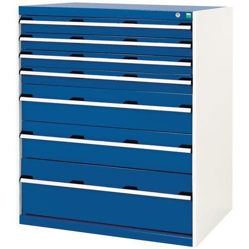 Armoire d'atelier à tiroirs Bott SL-107 - Hauteur 120 cm