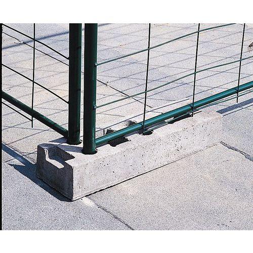 Accessoires pour barri re de quai cl ture mobile for Barriere amovible piscine