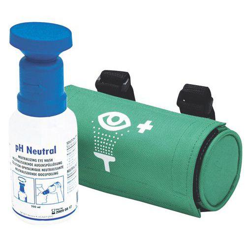 Kit portable lave-œil pH neutre