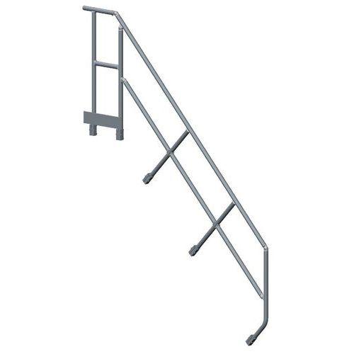 deuxi me main courante pour escalier plate forme tubesca man. Black Bedroom Furniture Sets. Home Design Ideas