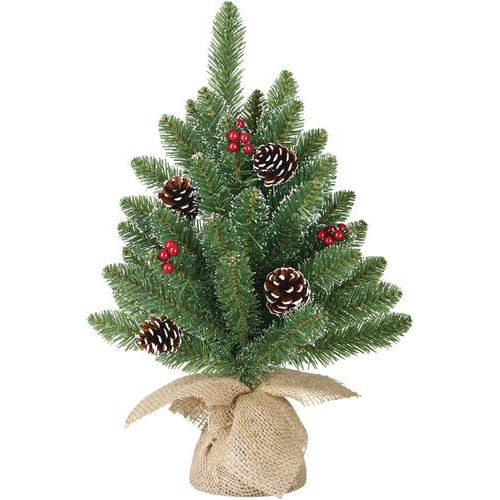 Sapin de Noël artificiel de table Creston