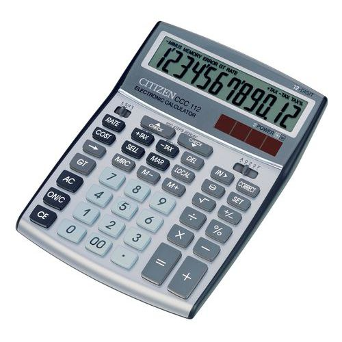 Calculatrice Citizen CCC-112