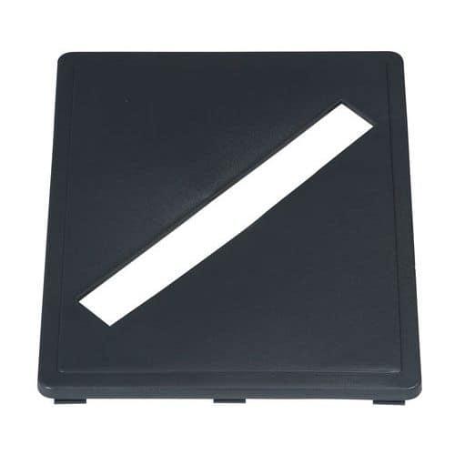 Insert fente compatible avec cadre pour poubelle