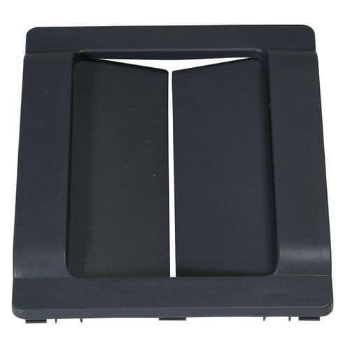 Insert clapet compatible avec cadre pour poubelle 60 et 80 L