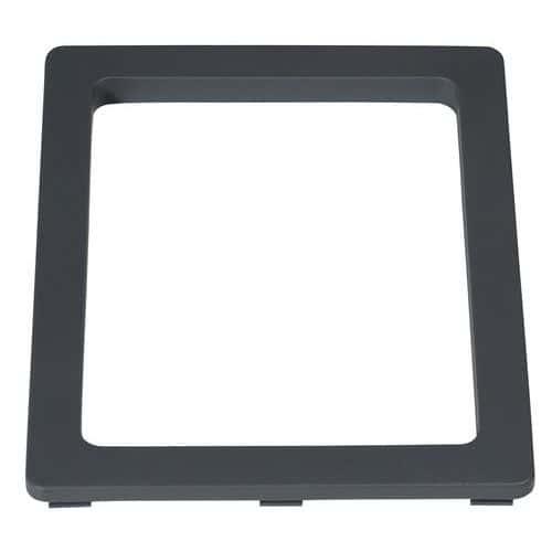 Insert rectangulaire compatible avec cadre pour poubelle 60 et 80 L
