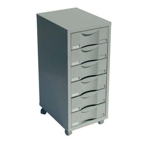 module mobile conomique six tiroirs. Black Bedroom Furniture Sets. Home Design Ideas