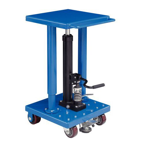 Table l vatrice mobile hydraulique colonne force 225 for Table elevatrice