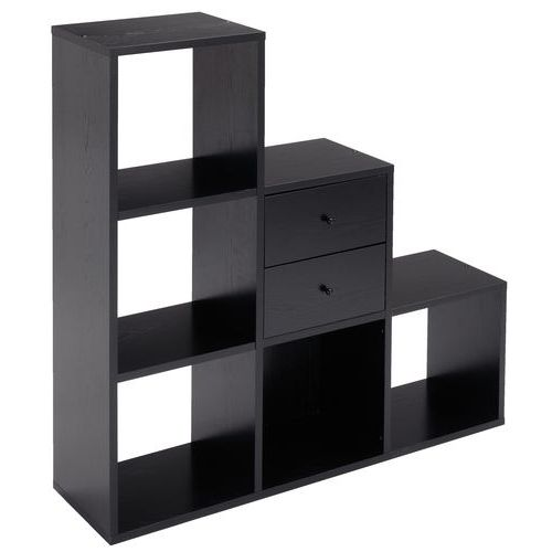 meuble de rangement maxicube noir. Black Bedroom Furniture Sets. Home Design Ideas