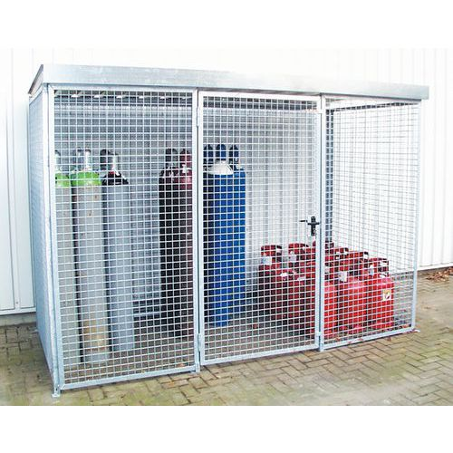 Cabine stockage de bouteilles de gaz 1 porte for Entrepot de porte et fenetre