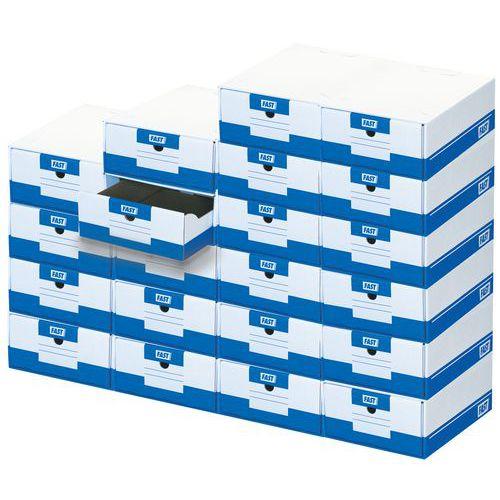 Caisse archives à tiroir