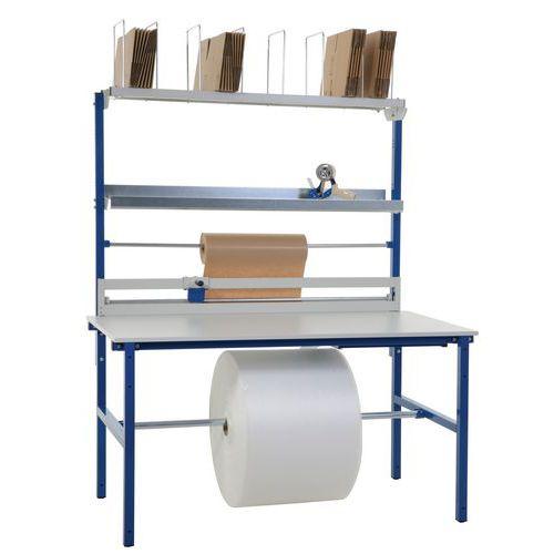 Table d'emballage compacte - Complète