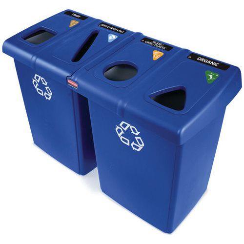 Centre de recyclage Glutton Rubbermaid_Vepabins