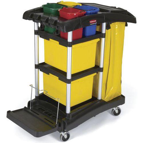 Chariot de ménage pour Microfibre_Rubbermaid