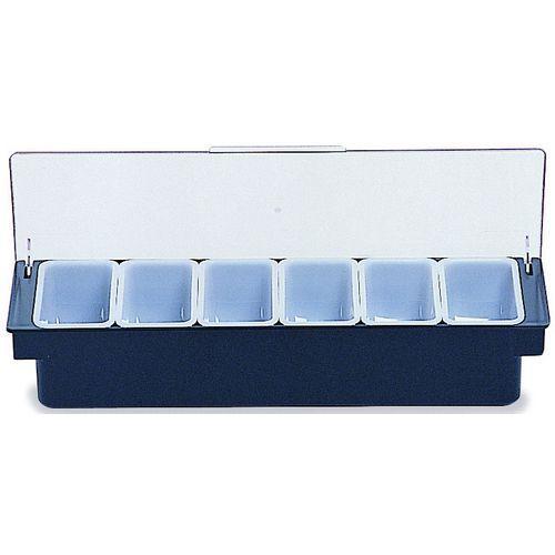 Boîte à condiments 6 compartiments_Rubbermaid