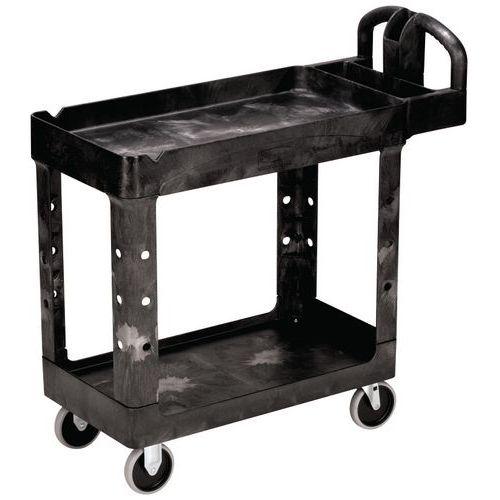 Petit chariot utilitaire à bords_Rubbermaid