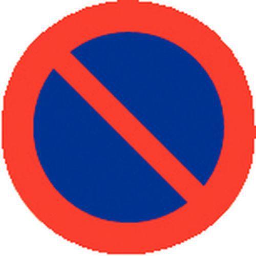 panneau d 39 interdiction stationnement interdit rigide manut. Black Bedroom Furniture Sets. Home Design Ideas