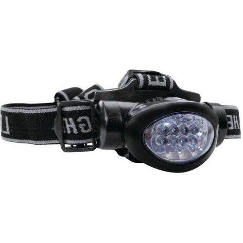 Lampe frontale maximum - 8 leds - Lumitorch