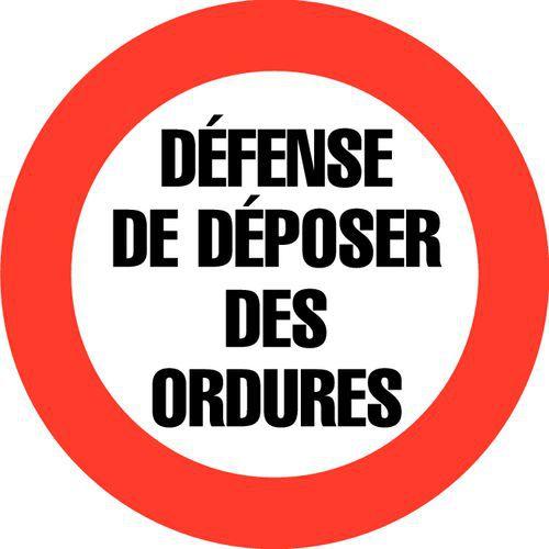 Panneau D Interdiction D 233 Fense De D 233 Poser Des Ordures