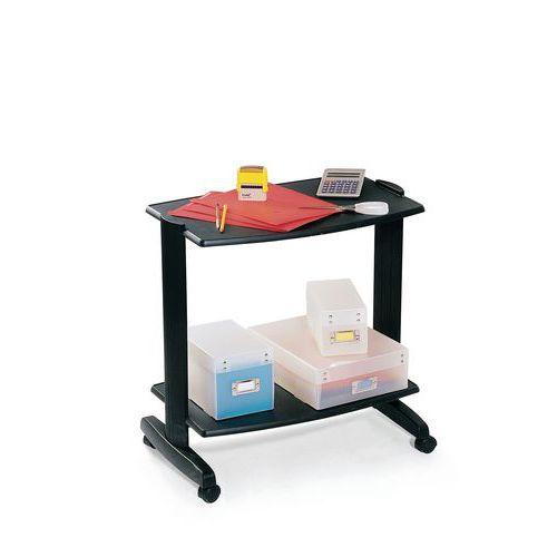 table de bureau mobile evolution 2 2 plateaux. Black Bedroom Furniture Sets. Home Design Ideas