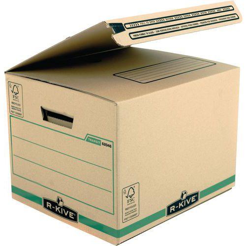bo te d 39 exp dition carton s curis e r kive bande adh sive. Black Bedroom Furniture Sets. Home Design Ideas