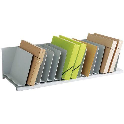 Trieur vertical à séparateurs amovibles pour armoires - Gris - Paperflow