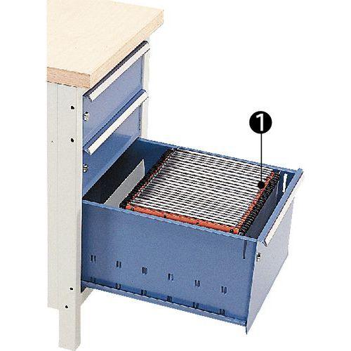 Solution d'aménagement pour tiroir Modul - Pour dossiers suspendus