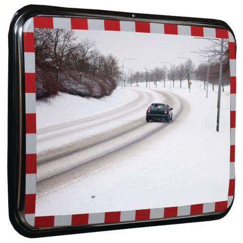 Miroir de sécurité anti-buée et anti-gel