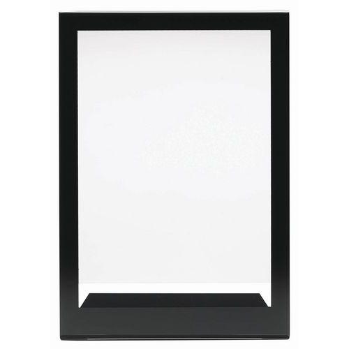 Présentoir A4 avec cadre noir