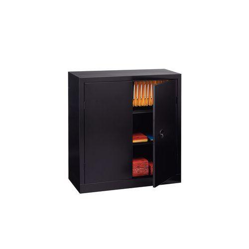 Armoire monobloc à portes battantes - H 100 x l 100 cm