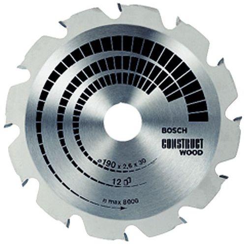 Lame de scie circulaire Construct Wood - Ø 235 mm - Alésage Ø 30 mm
