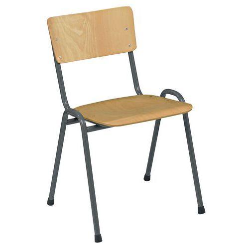 Chaise collectivité bois