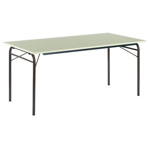 Table pliante rectangle pi tement tubulaire - Pietement pour table pliante ...