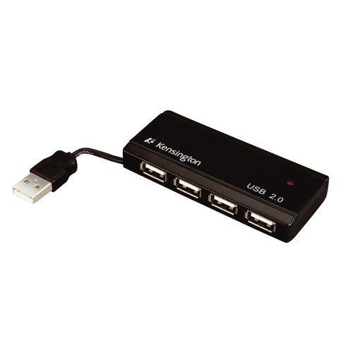Kensington PocketHUB Mini USB 2.0 - Concentrateur (hub) - 4 ports - Ordinateur de bureau