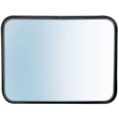 Miroir de sécurité multi-usages tout inox