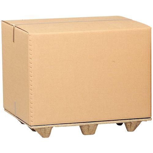 Caisse-conteneur pour palette - Triple cannelure
