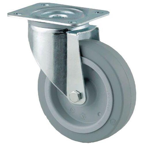 roulette pivotante platine force 150 400 kg. Black Bedroom Furniture Sets. Home Design Ideas