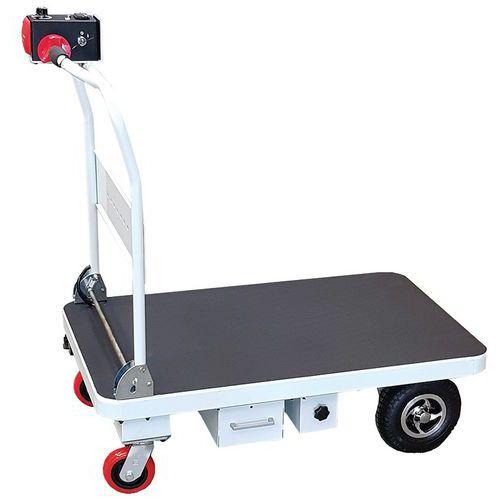 Chariot électrique à dossier repliable - Capacité 300 kg