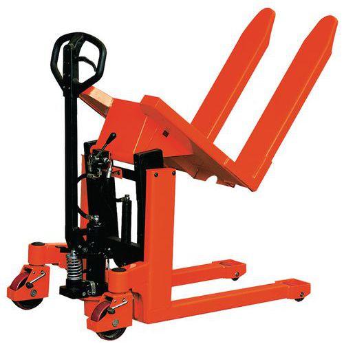 Transpalette basculeur manuel - Capacité 1000 kg
