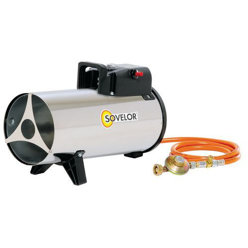 Chauffage air puls au gaz propane mobile mg 180 for Chauffage exterieur propane