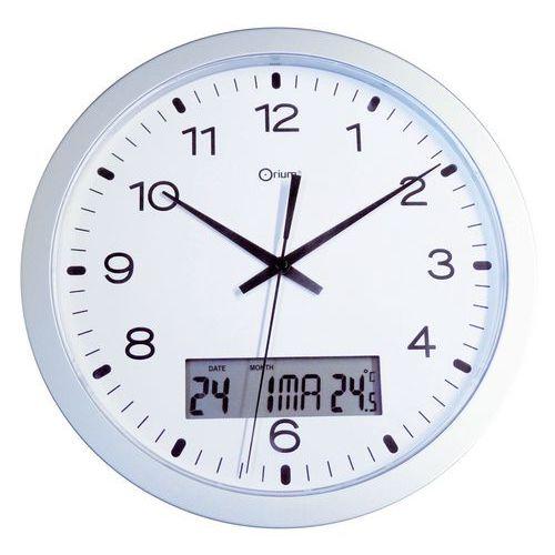 Horloge murale à quartz avec écran LCD