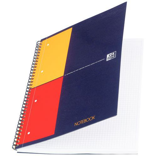Cahier à spirales Oxford Notebook - Format A4