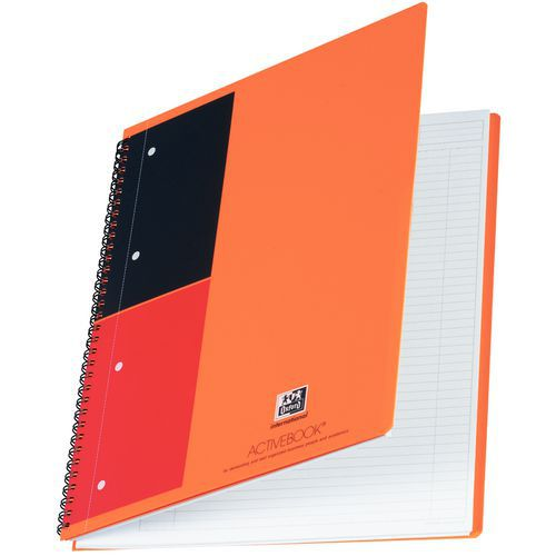 Cahier à spirales Oxford Activebook - Format A4
