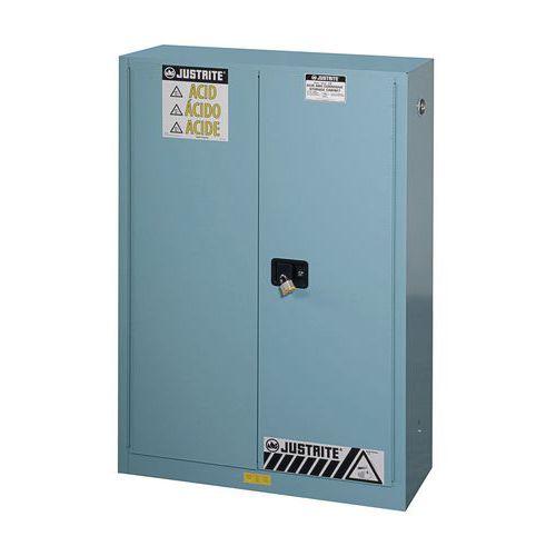 Armoire de sécurité pour produits corrosifs - Capacité de stockage 170 L