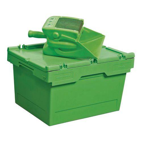 Kit épandage et récupération d'absorbants - 25 litres