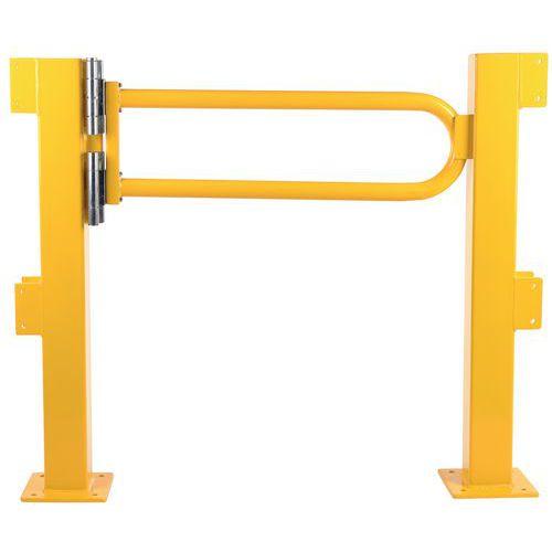 Porte battante pour barrière de sécurité modulable - Dancop