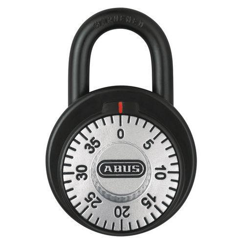 Cadenas à combinaison fixe sur clé passe