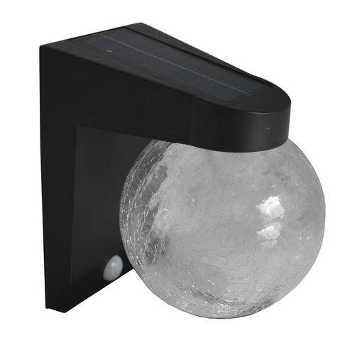 Applique solaire Helios avec détection 18 LED blanches - 200 lm - AIC International