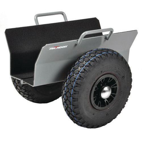 Rouleur porte panneaux avec roues pneumatiques - Capacité 300 kg