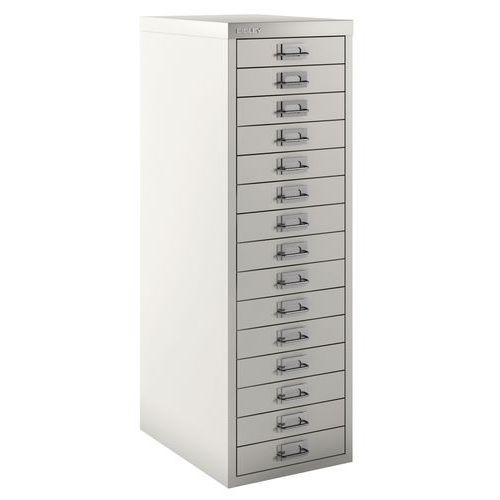 Armoire 15 tiroirs texturée - Bisley